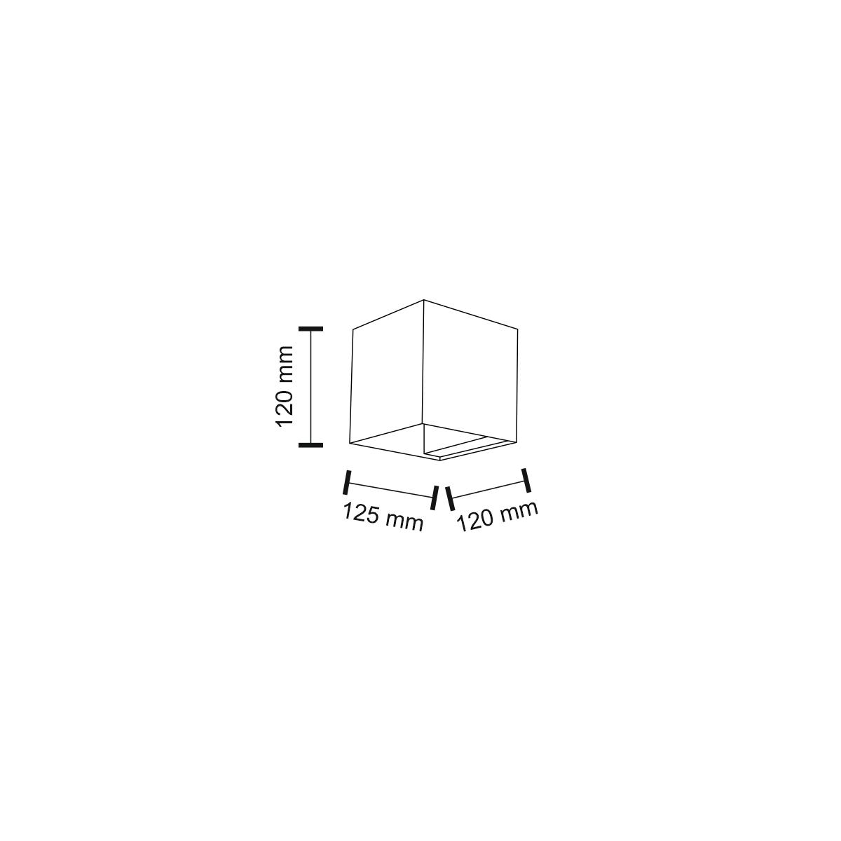 Shilo KANI 1xG9 biały kinkiet 7438