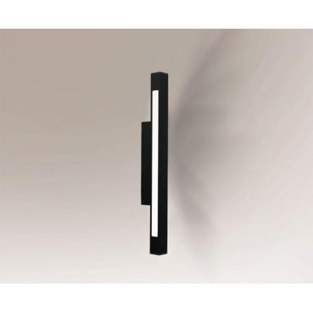 Shilo OTARU LED 2x9,6W 2160lm CRI90 czarny kinkiet 4475