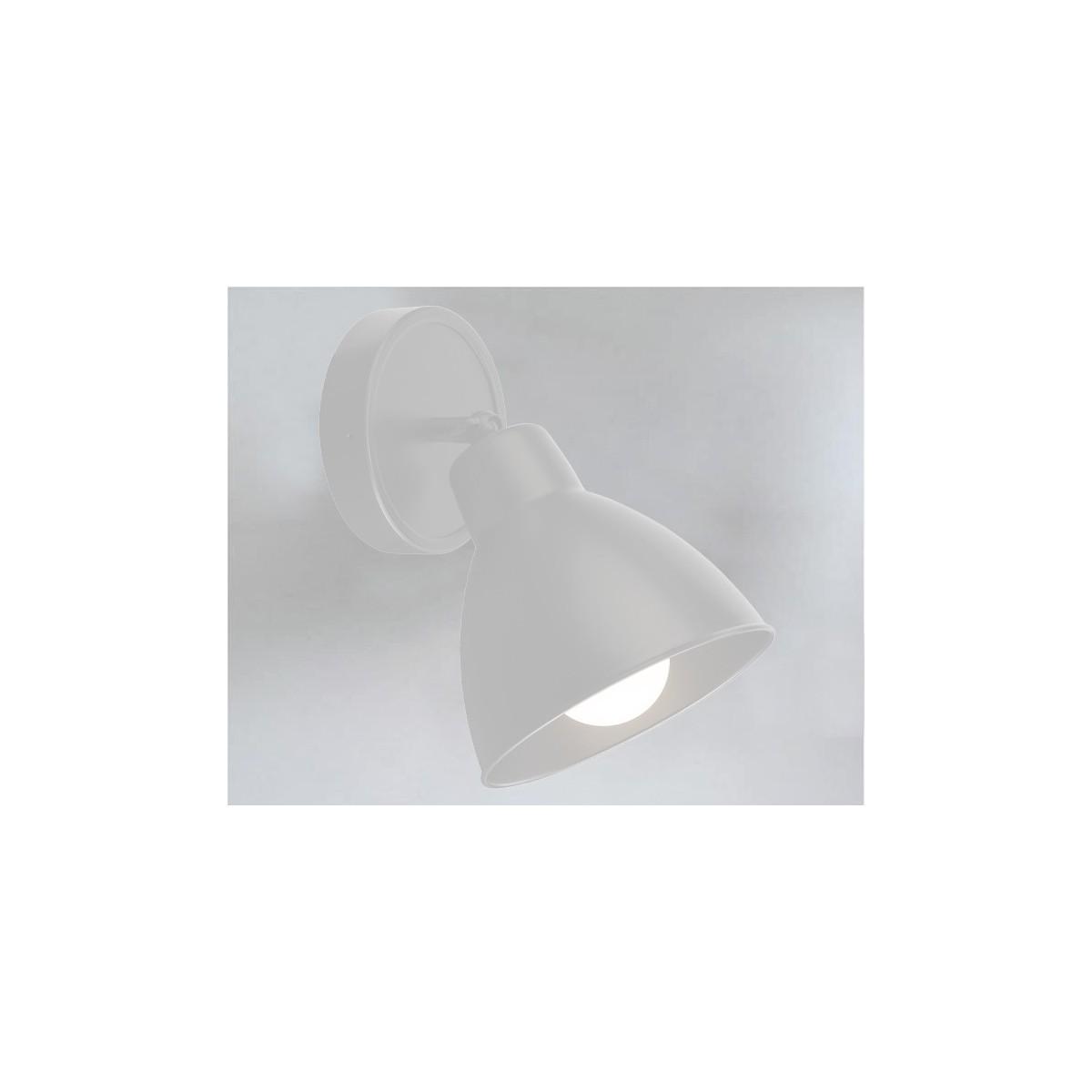 Shilo DAISEN 1xE27 biały kinkiet 7487