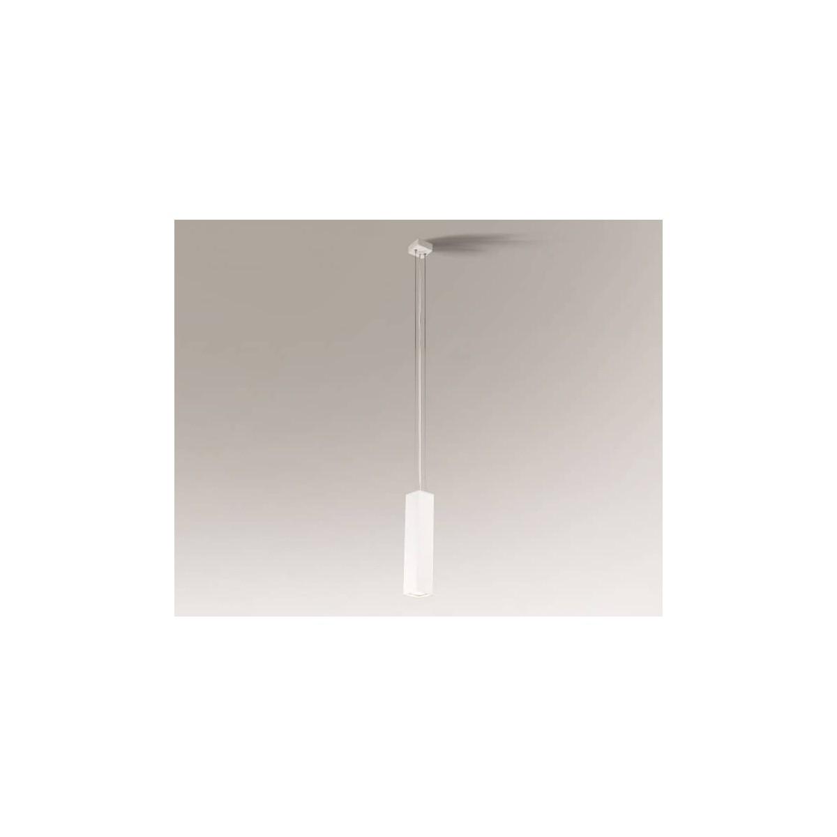 Shilo NODA 1xGU10 biały wisząca 7642