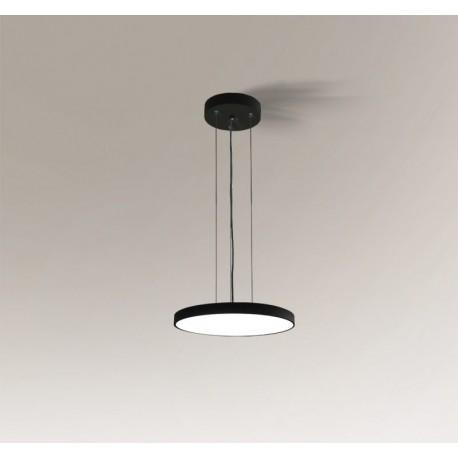 Shilo NUNGO LED 12W 1056lm czarny wisząca 6018