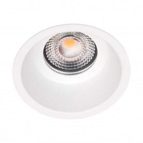 MAXlight Bellatrix Bath Oprawa Wpustowa Biała IP54 Hermetyczna H0113 - Bez Modułu LED (zamawiany osobno)