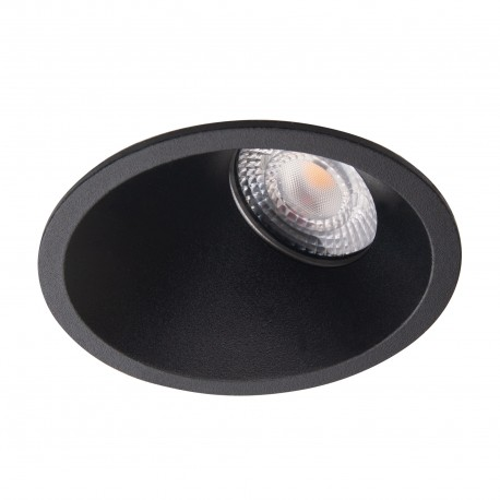 MAXlight Bellatrix Side Oprawa Wpustowa Czarna H0116 - Bez Modułu LED (zamawiany osobno)
