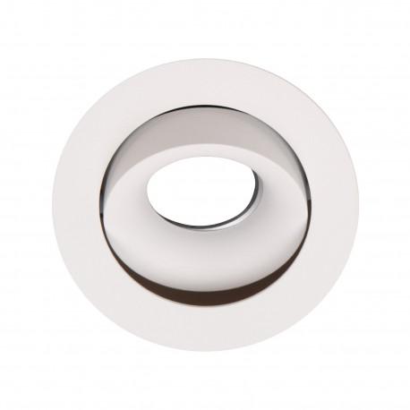 MAXlight Bellatrix Tilted Oprawa Wpustowa Biała Regulowana H0117 - Bez Modułu LED (zamawiany osobno)