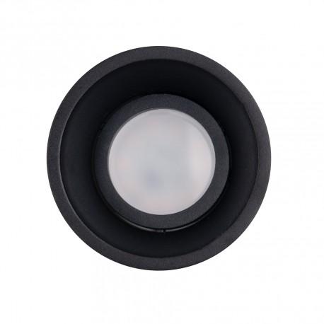 MAXlight Deep Oprawa Wpustowa 1xGU10 Czarna H0111