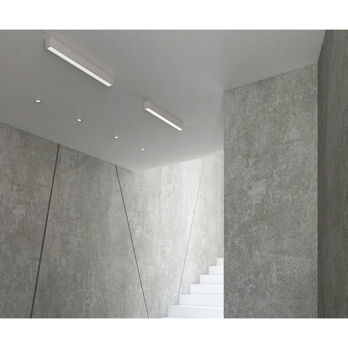 MAXlight Linear White Sufitowa 18W LED 1300lm 4000K Biały Ściemnialna C0124D