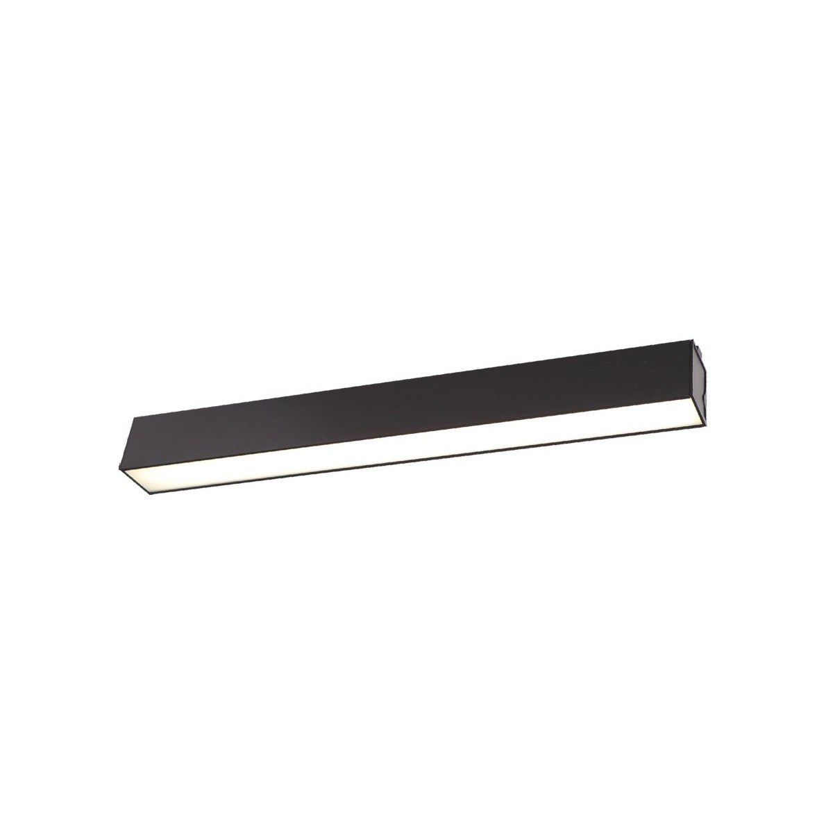 MAXlight Linear Black Sufitowa 18W LED 1300lm 4000K Ściemnialna C0190D