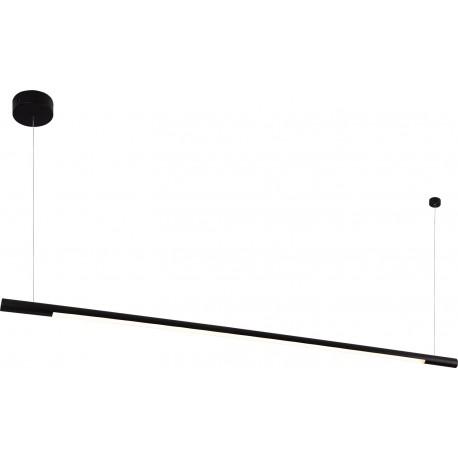 MAXlight Organic Horizon Wisząca 26W LED 2210lm 3000K 150cm Czarna Ściemnialna P0358D