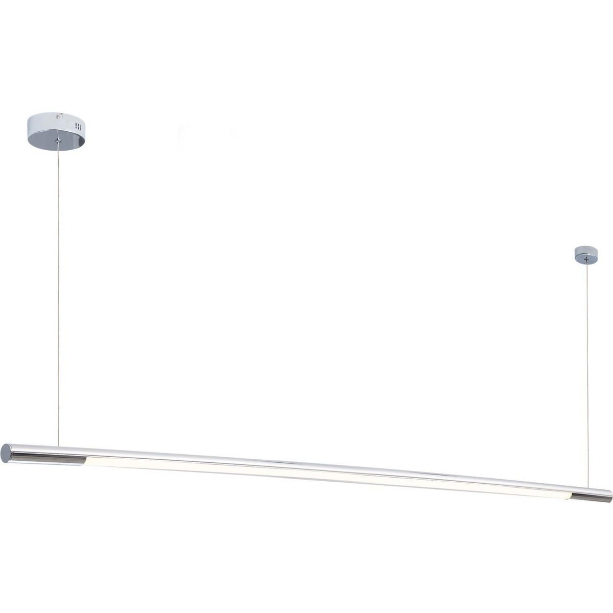 MAXlight Organic Horizon Wisząca 26W LED 2210lm 3000K 150cm Chrom Ściemnialna P0359D