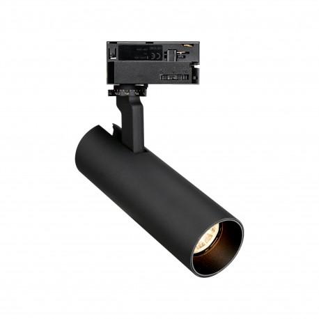 MAXlight Shinemaker Reflektor Do Szynoprzewodu 3F 15W LED 1327lm 3000K Czarny Ściemnialny S0016