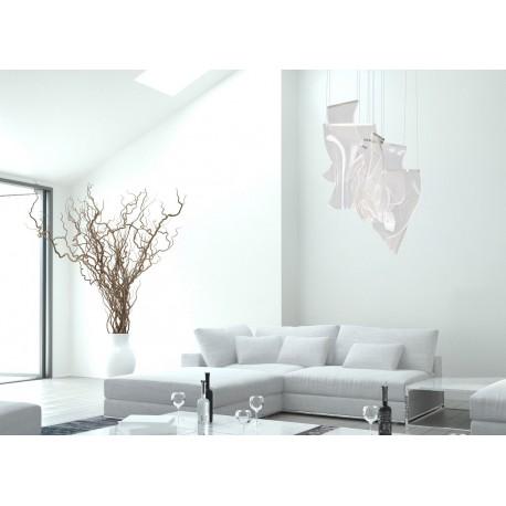 MAXlight Silk Wisząca Ściemnialna 15W LED 1350lm 3000K Chrom P0371D