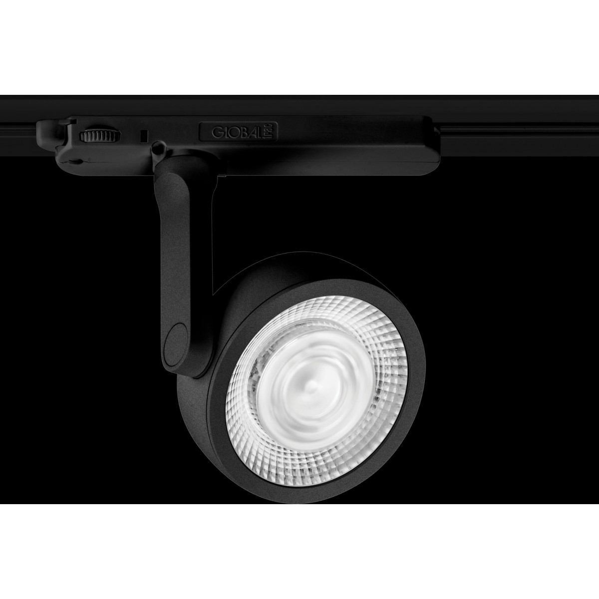 MAXlight Charon Do Szynoprzewodu Trójfazowego Czarny 15W LED 1327lm 3000K S0014