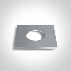 One Light Kwadratowy pierścień chrom do 10106PF