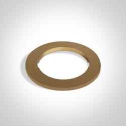 One Light Okrągła podstawa dekoracyjna mosiądz do 10105H