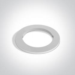 One Light Okrągła podstawa dekoracyjna biała do 10105H