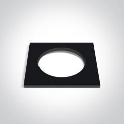 One Light Kwadratowa dekoracyjna podstawa czarna do 10105H