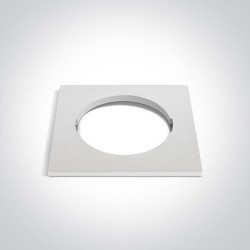 One Light Kwadratowa dekoracyjna podstawa biała do 10105H