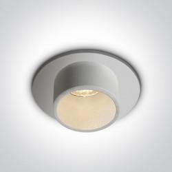 One Light Wpust biały LED Kalami