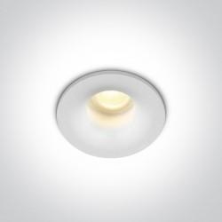 One Light Wpust sufitowy LED biały Engomi IP44
