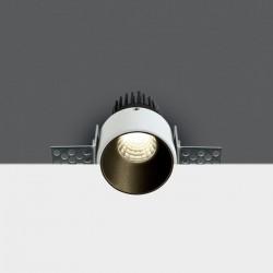 One Light Wpust LED biały Lakatamia ciemny środek 10103BTR/B/W