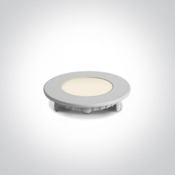 One Light Wpust LED biały wąski Lefkara 10103FA/W/C