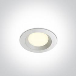 One Light Wpust biały LED Odu 10103T/W/W