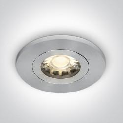 One Light Oprawa sufitowa Theodoros aluminium 10105AC/AL