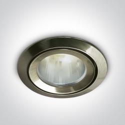 One Light Oprawka sufitowa do łazienki antyczny mosiądz Kalisti 10105CJ/ABS/5 IP43