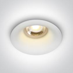 One Light Oprawa do zabudowy biała Filousa 10105DG/W