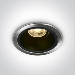 One Light Wpust sufitowy stalowy chrom Sarama 10105F/MC