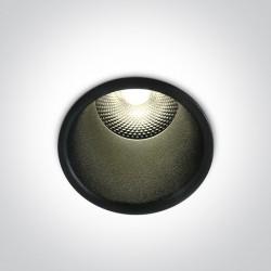 One Light Lampa wpuszczana LED Simu 10105FD/B/W
