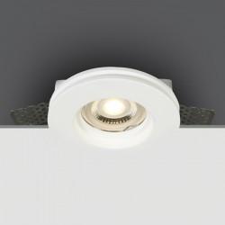 One Light Lampa do zabudowy gipsowa biała Milia 10105GT1