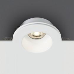 One Light Lampa do zabudowy gipsowa biała Drimu 10105GT2
