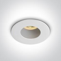 One Light Lampa sufitowa biała Joanis 10105MD/W/W