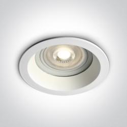 One Light Oprawa wpuszczana do łazienki Kedares 10105R2/W IP65