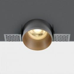 One Light Lampa wpuszczana mosiężna Potamos 10105TR/BS