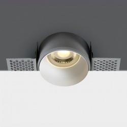 One Light Lampa wpuszczana biała Potamos 10105TR/W