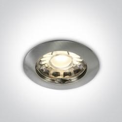 One Light Wpust sufitowy chrom matowy Statos 10105X/MC