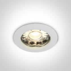 One Light Wpust sufitowy biały Statos 10105X/W