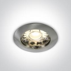 One Light Halogen sufitowy matowy chrom Wretsia 10105XS/MC