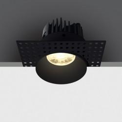 One Light Wpust do łazienki czarny Manna 10107BT/B/W IP54
