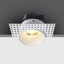 One Light Wpust do łazienki biały Manna 10107BT/W/W IP54