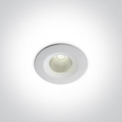 One Light Wpust LED sufitowy biały uniwersalny Gudi 10107CA/W/C