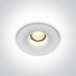 One Light Wpust LED sufiotwy biały zewnętrzny Inia 10107DB/W/W IP54