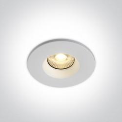 One Light Wpust LED sufiotwy biały ognioodporny Miliu 10107DF/W IP65
