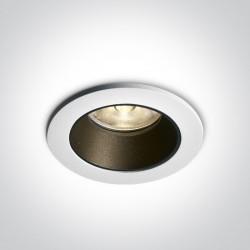One Light Wpust LEDowy sufitowy biały Akursos 10107K/W/W