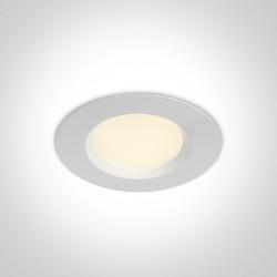 One Light Wpust sufitowy z regulacją biały Tala 10107UV/W IP44
