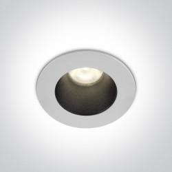 One Light Wpust LED biały 8W Warwara 10108D1/W/W