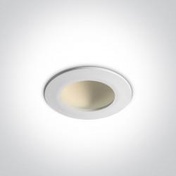 One Light Wpust LEDowy biały Nata 8W 10108FD/W/C