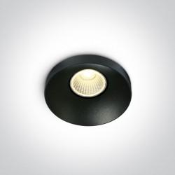 One Light Oprawa LED czarna Skalia 10108R/B/W